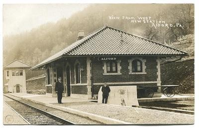 Alford Station Historical View